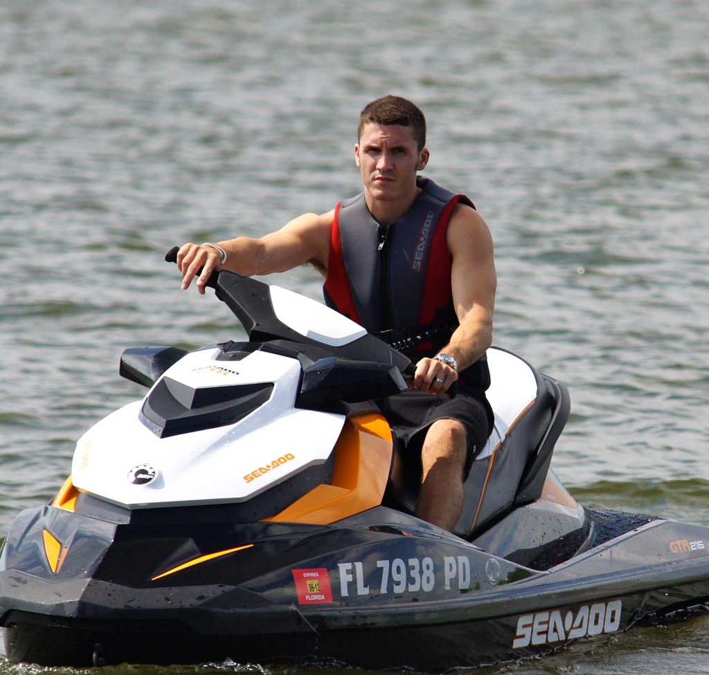 Kevin Wassum prepares for his trip to the World Finals-Sea-Doo GTR 215