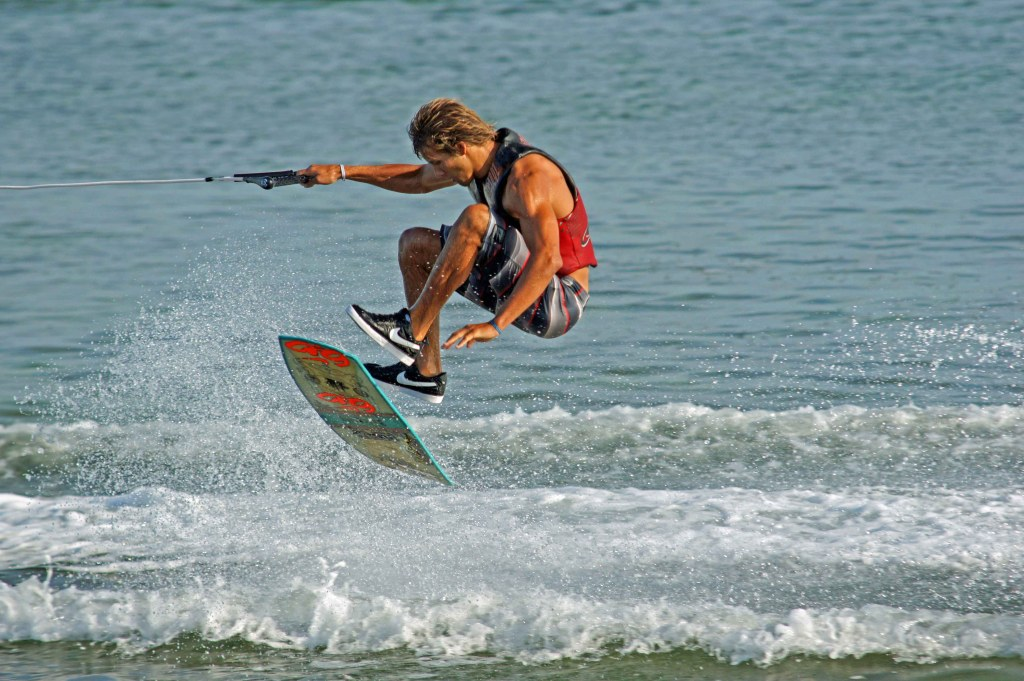 Nick Taylor is part of the Nike 6.0/Sea-Doo Wakeskate Team