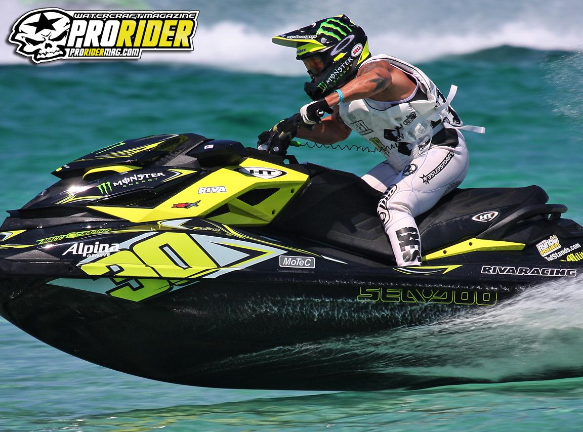 Jet Ski Racing Sea Doo Onboard