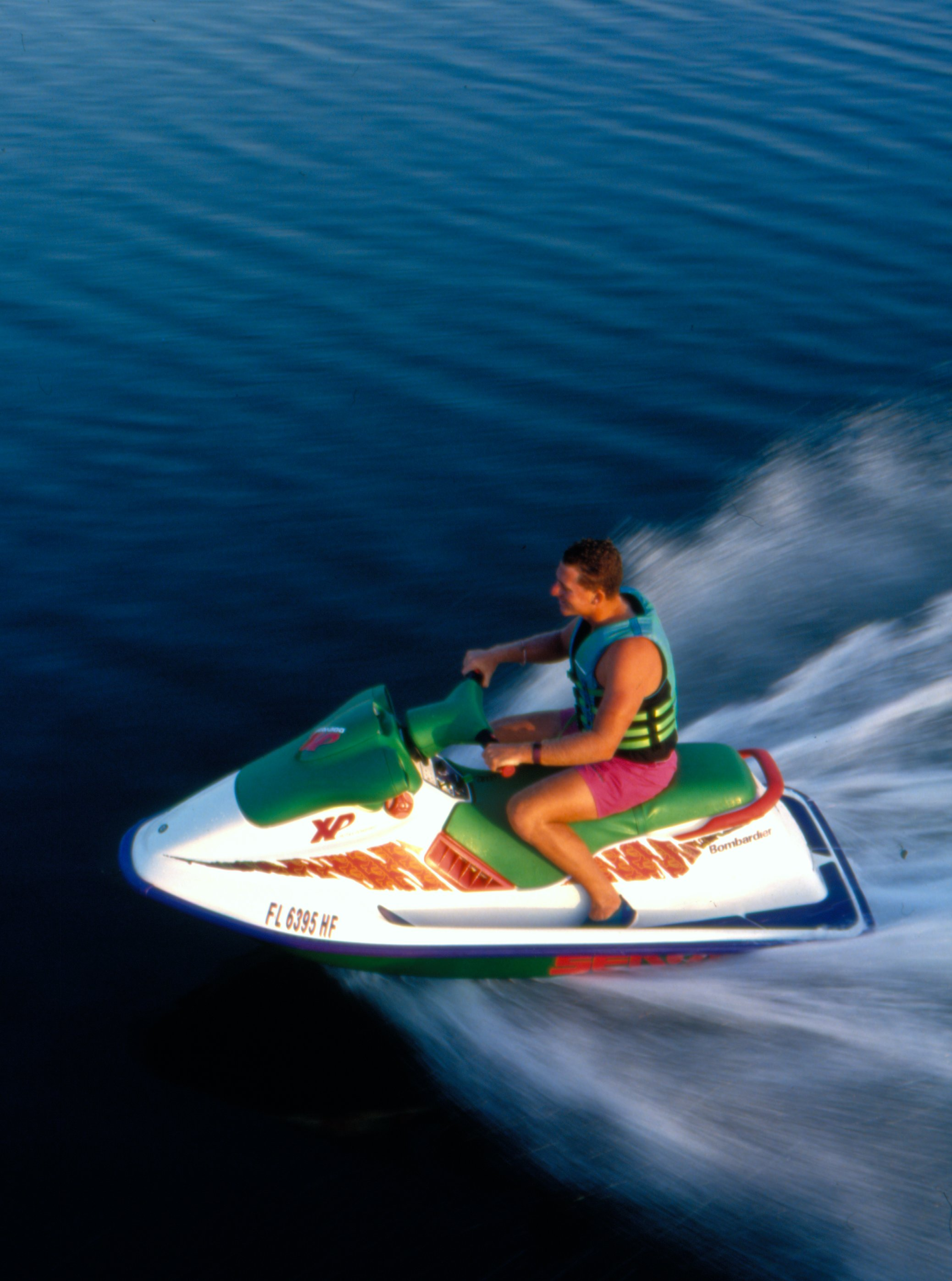 1994 xp behind the scenes sea doo onboard