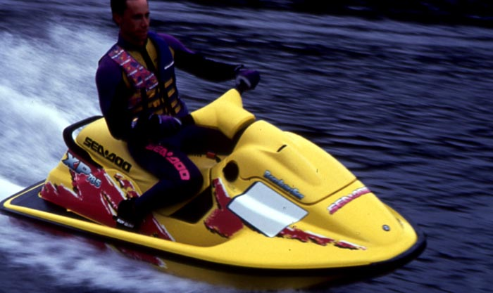 25 Years Of The Modern Sea Doo 1995 The First Suspension Seat And