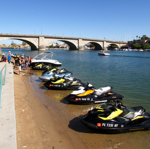 The London Bridge at Lake Havasu City, Arizona