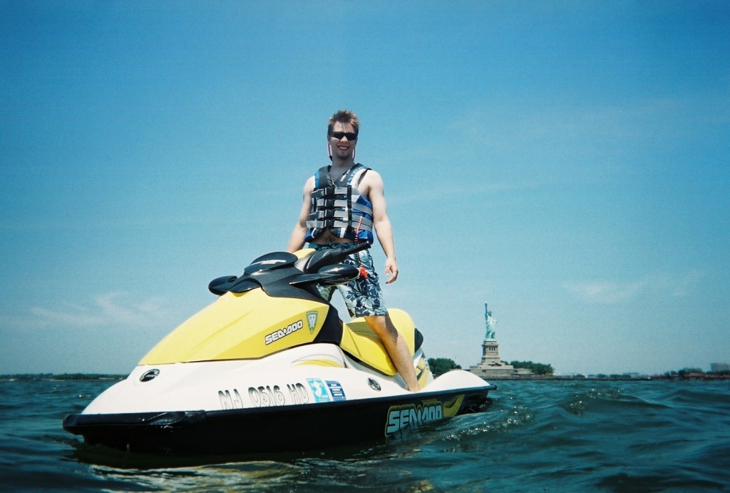 sea doo image of the week photo contest, sea-doo statue of liberty