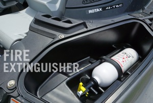 Sea-Doo Fire Extinguisher