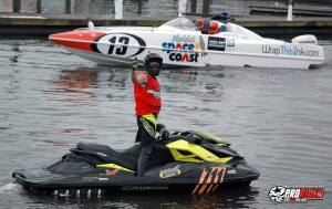 AquaX 300 class runner up - Kevin Wassum
