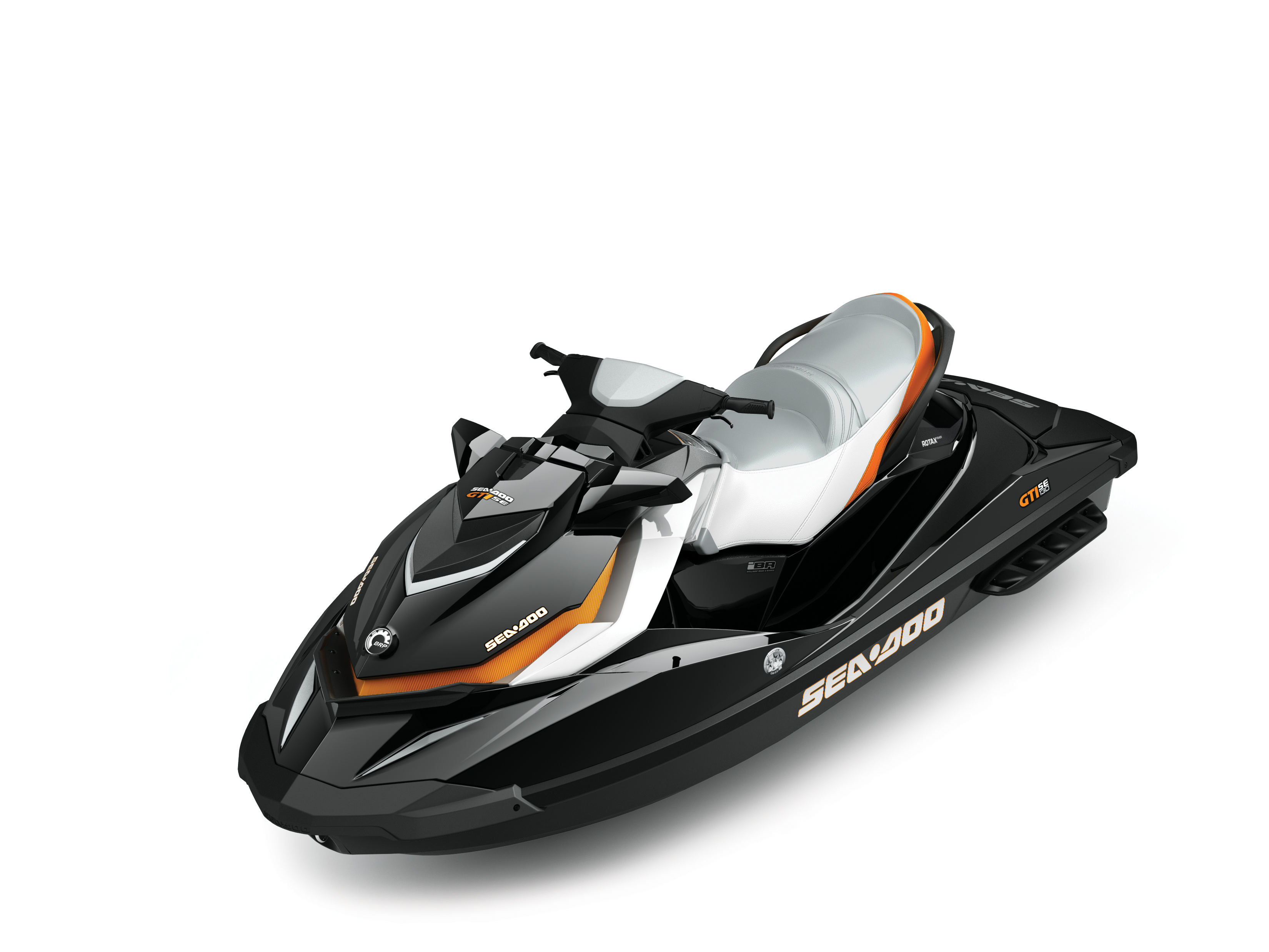 2014 SEA-DOO GTI SE_STUDIO-FRONTQUARTER-ORANGE