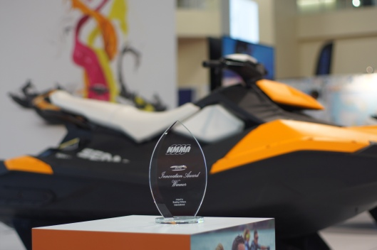 2014 NMMA Innovation award winning Sea-Doo Spark