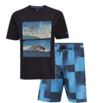 elevate tee and shorts