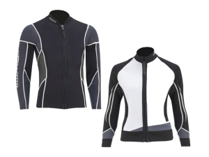 Ladies and Mens Deluxe wetsuit jackets