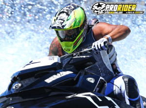 Erminio Iantosca has his eyes set on the US National Title aboard his Sea-Doo RXP-X.  Photo Proridermag.com
