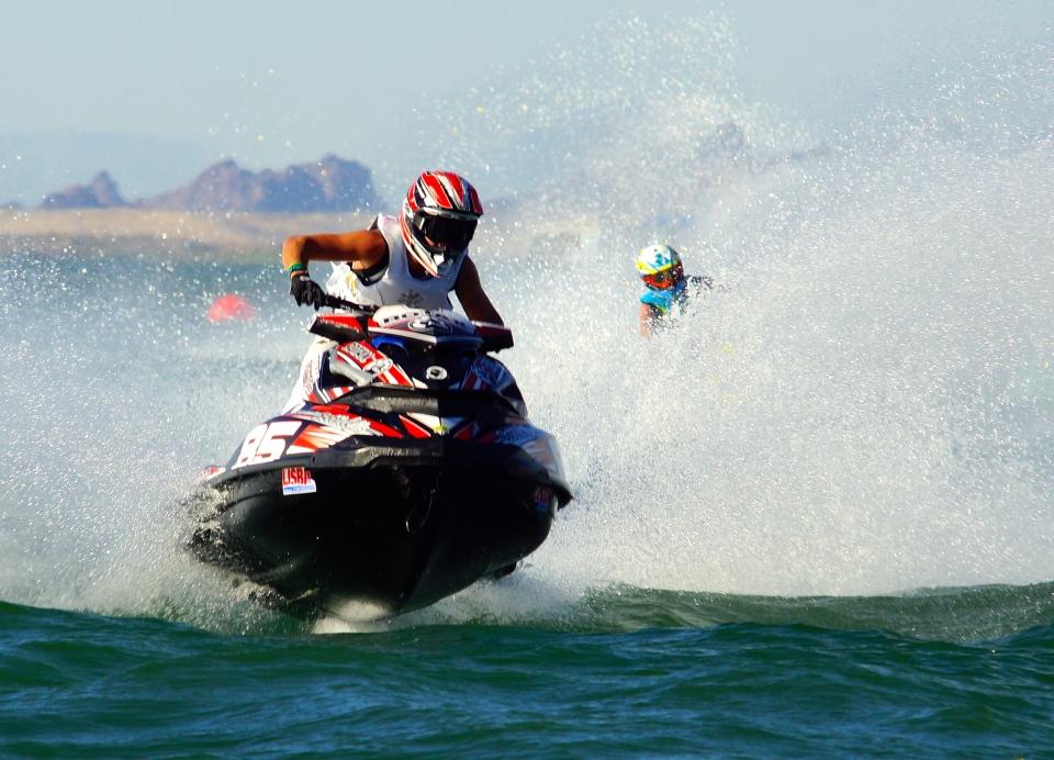 Jean-Baptiste Bottie, the new 2014 PRO OPEN World Champion on his Sea-Doo RXP-X