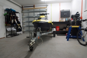 Store your watercraft and trailer in a well ventilated area.