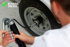 Use XPS synthetic grease to lubricate wheel bearings.