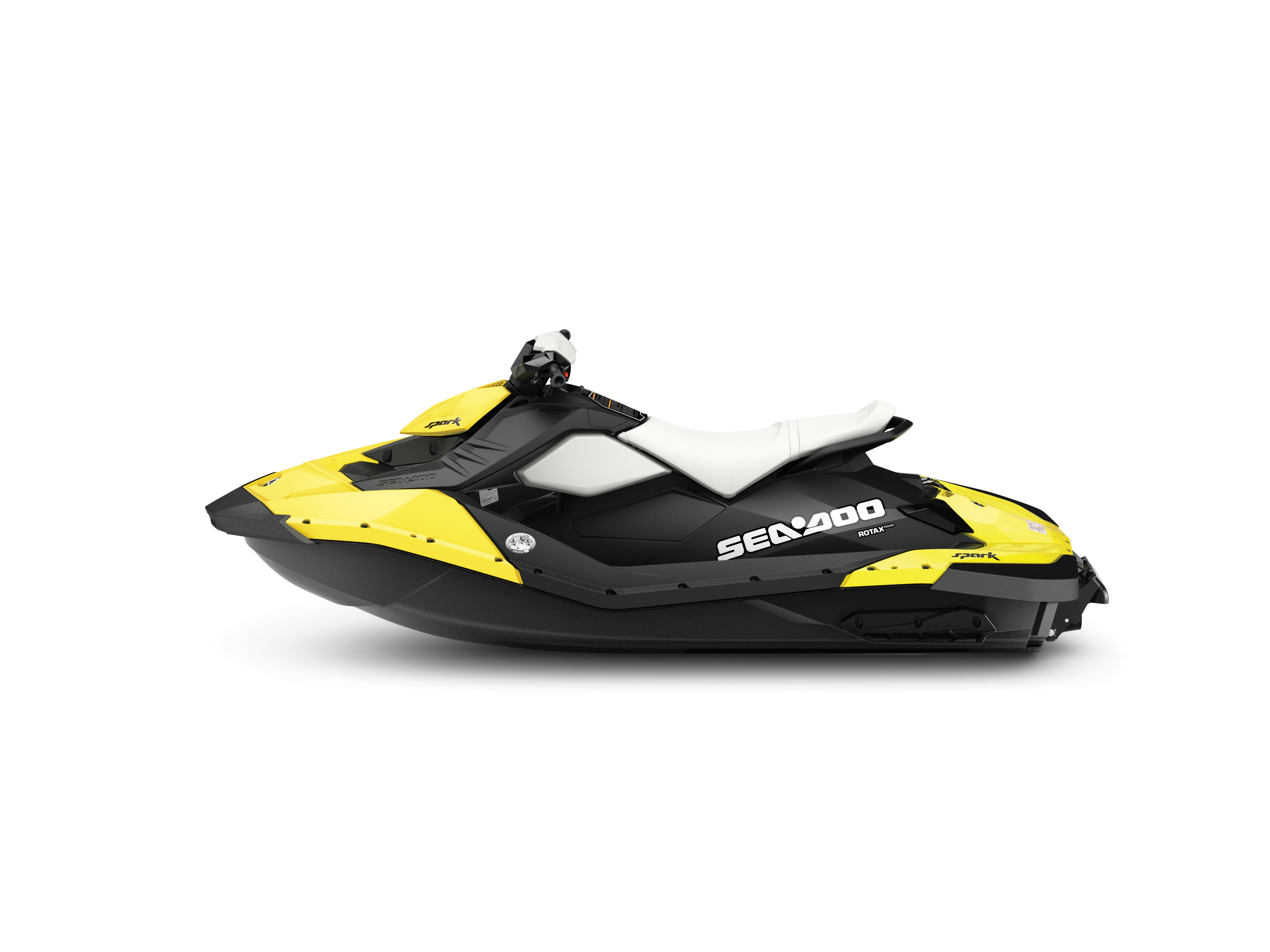 2014 SEA-DOO SPARK 2UP_STUDIO PROFILE PINEAPPLE