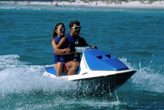 1990 Sea-Doo GT 3-seater watercraft